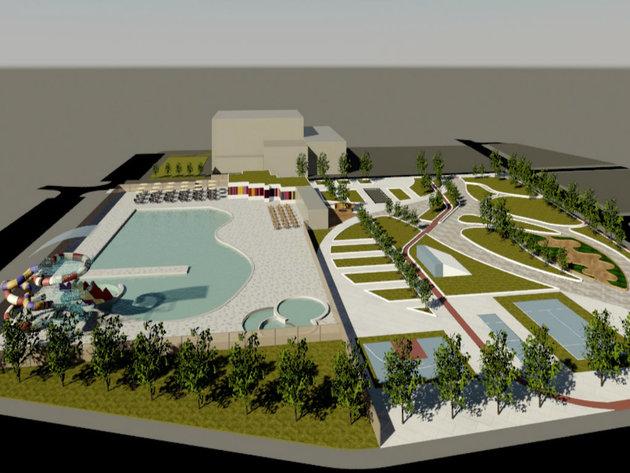 Pirot dobija oazu za odmor i rekreaciju - Pogledajte kako će izgledati kompleks otvorenog bazena sa solarnim panelima (FOTO)