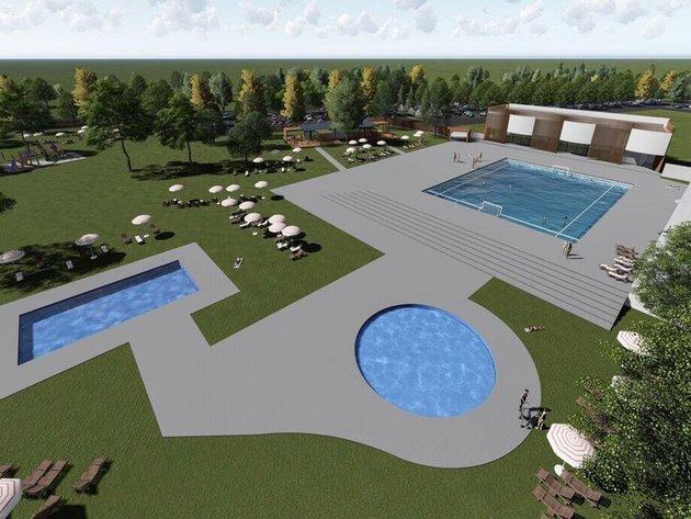 Wie der zukünftige Schwimmbad-Komplex in Kula aussehen soll