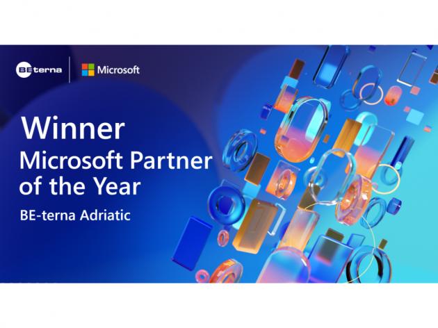 Kompanija BE-terna Adriatic dobitnik prestižnog priznanja Microsoft Partner godine