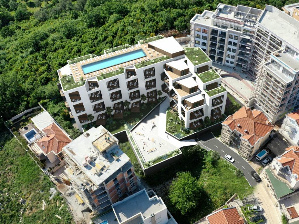 U Bečićima niče još jedna zgrada sa 95 turističkih apartmana i bazenom na krovu (FOTO)