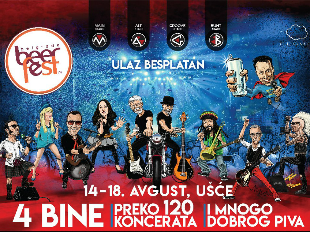 Posetioce Belgrade Beer Fest-a očekuje više od 600 muzičara i 400 pivskih ukusa