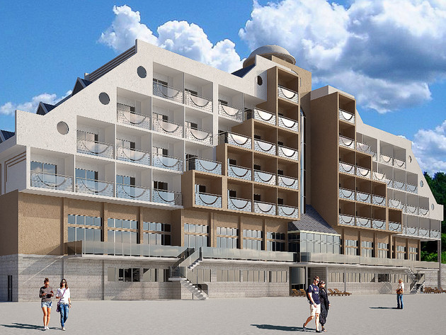 Future look of the hotel