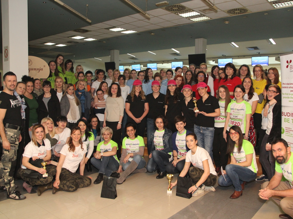 Sakupljeno 10.000 EUR za zbrinjavanje onkoloških pacijenata na tradicionalnom BELhospice humanitarnom turniru