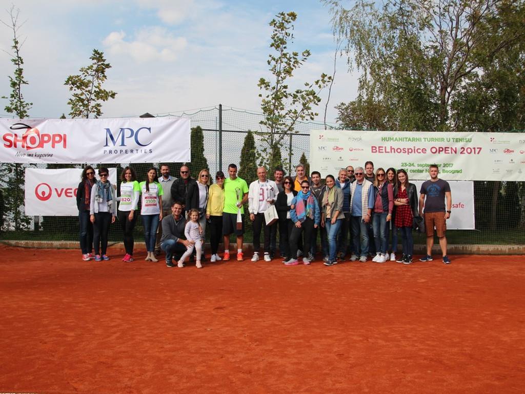 Na BELhospice humanitarnom teniskom turniru prikupljeno 3.000 EUR