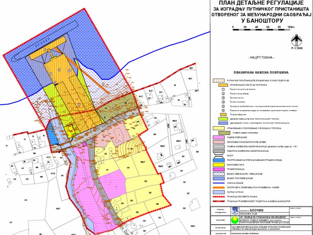 Pokrenut projekat luke Beočin - U Banoštoru će se graditi međunarodno pristanište i vinski centar
