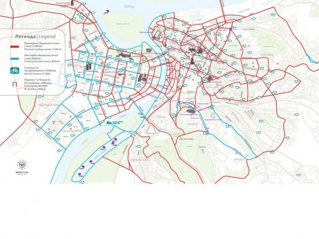 mapa biciklistickih staza beograd eKapija | Biciklom kroz Ruzveltovu sve do Mirijeva   Do 2019  mapa biciklistickih staza beograd
