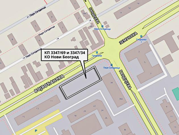 Prodato zemljište u Bloku 63 - Za 32 ara u Novom Beogradu 327,7 miliona dinara
