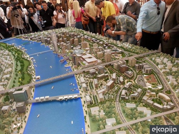 Purchase of flats in Belgrade on water is starting October 3