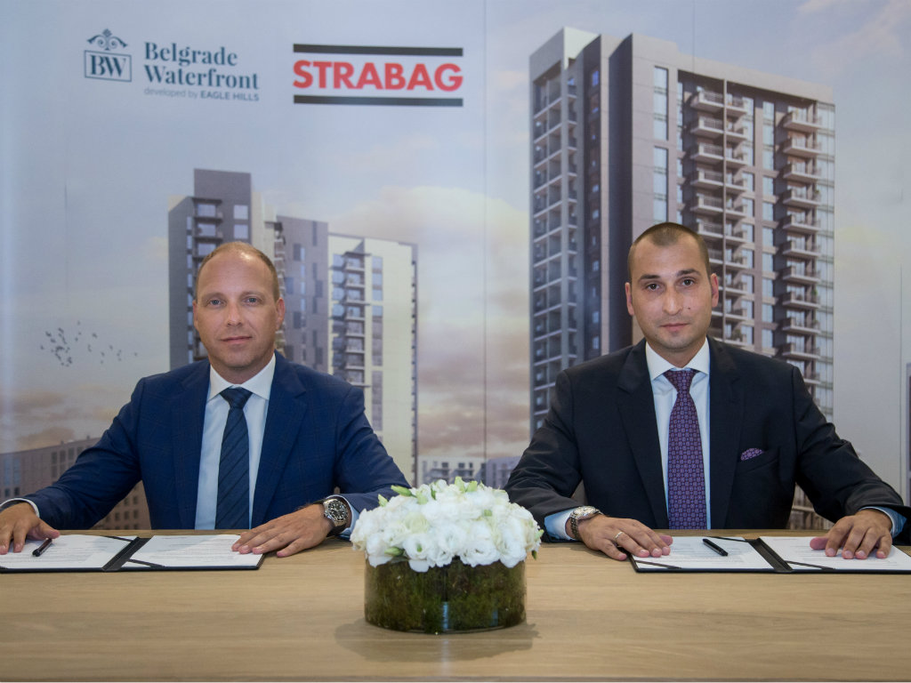 Construction of another two residential buildings at Belgrade Waterfront to begin
