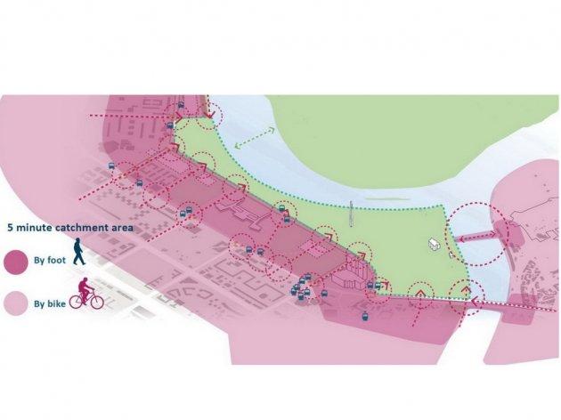 Park Usce in sieben Zonen geteilt - Neues Konzept der grünen Oase in Belgrad vorgestellt