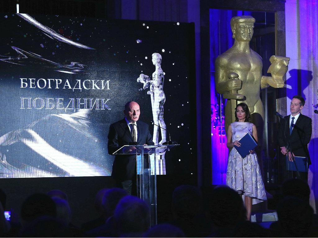Dodeljene godišnje nagrade Beogradski pobednik za ostvarene rezultate u poslovanju