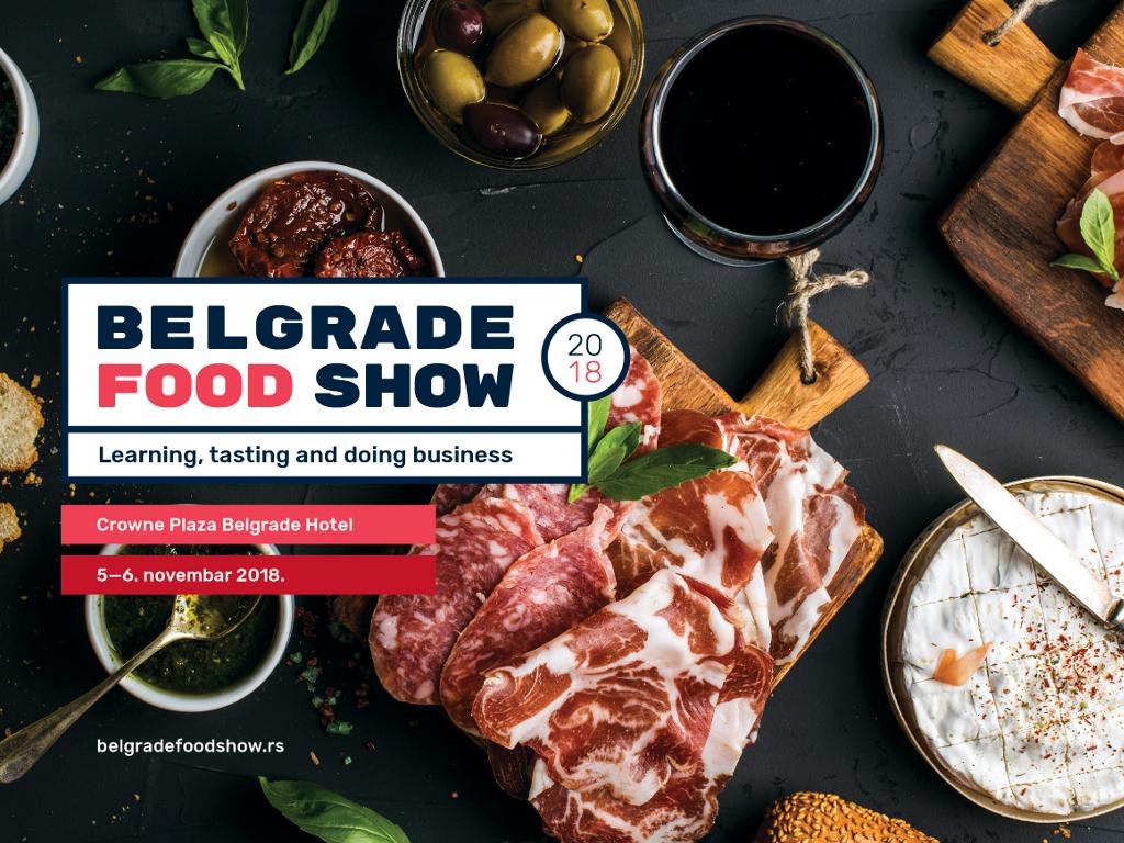 Belgrade Food Show 5. i 6. novembra 2018.