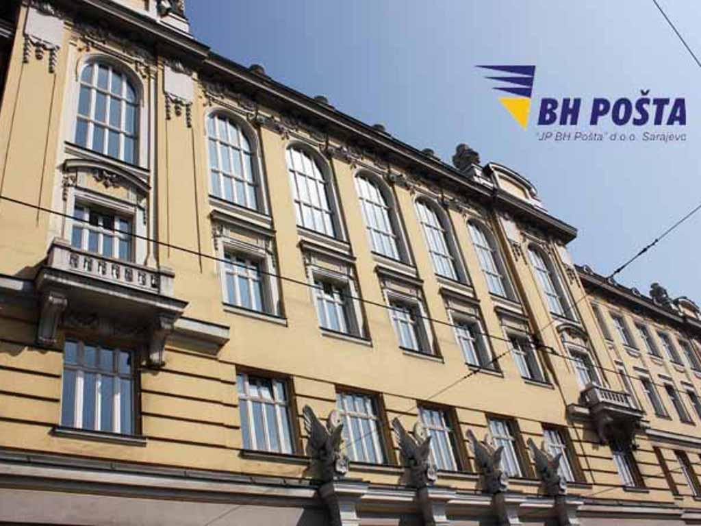 BH Pošta zabilježila pad poštanskih usluga od 18%
