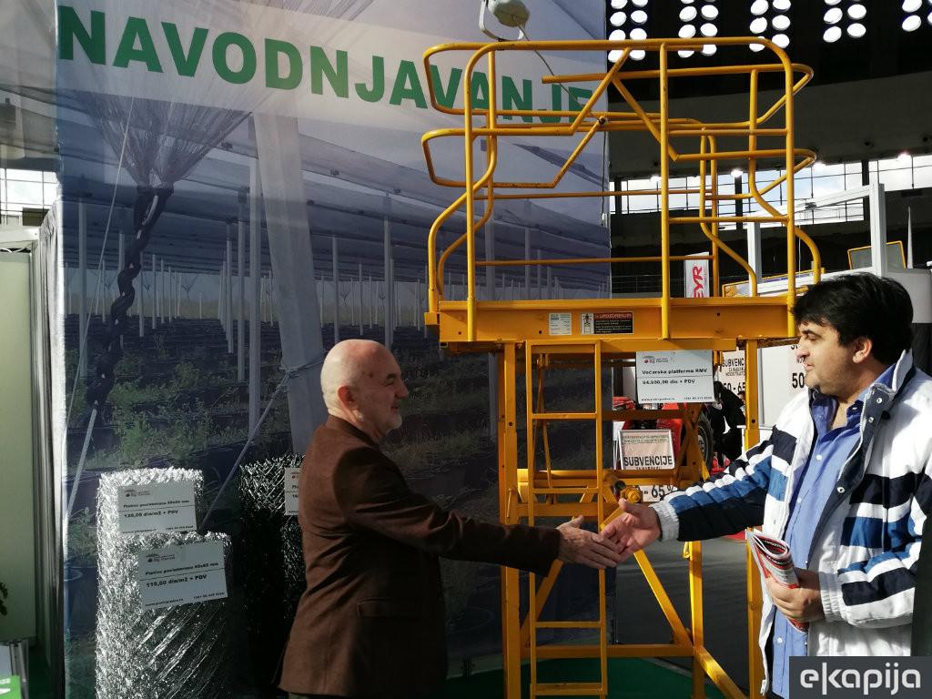 Agro Belgrade 2020 - Navodnjavanje neophodno za uspešnu prozvodnju voća i povrća (FOTO)