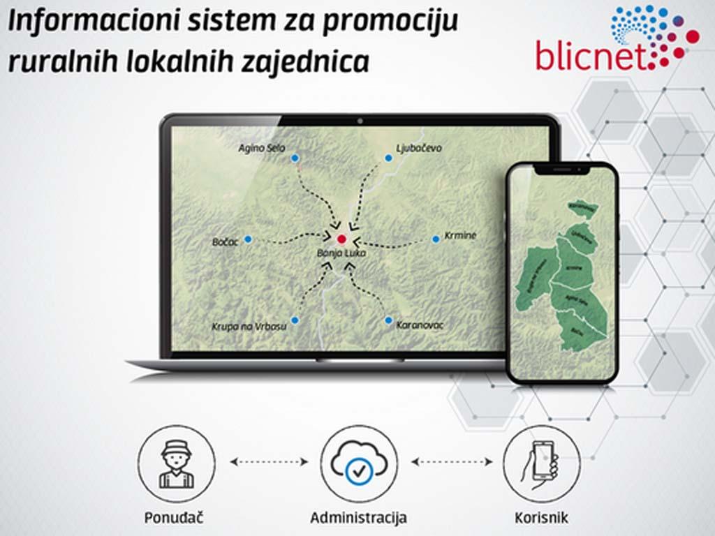Banjaluka-grad budućnosti - Blicnet kreira informacioni sistem za promociju ruralnih lokalnih zajednica
