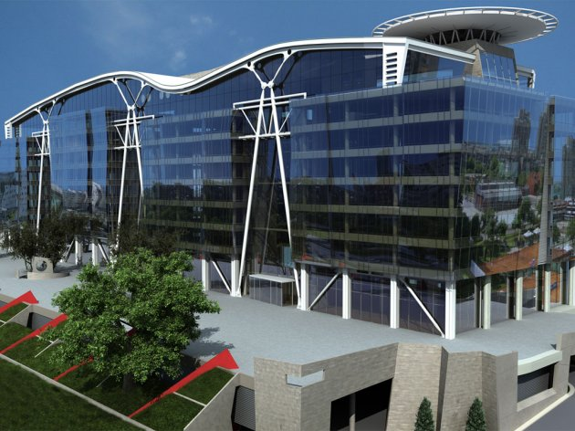 The planned look of B23 Office Park