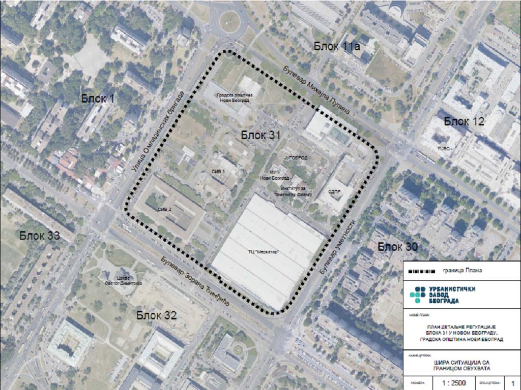 U Bloku 31 planira se gradnja dve podzemne garaže i dogradnja GO Novi Beograd i zgrade SIV 2