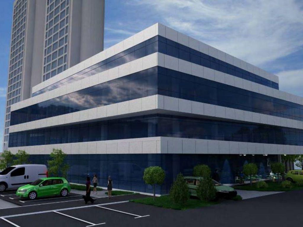 Uz Geneks kulu na Novom Beogradu gradiće se poslovni objekat za izdavanje na 6.161 m2, sa 56 podzemnih parking mesta (FOTO)