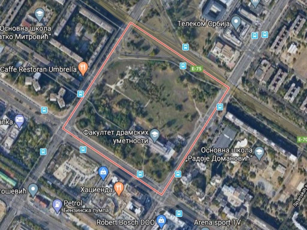 Novi centar MUP-a gradiće se u Bloku 39 na Novom Beogradu - Kompleks na više od 10 hektara, sa helidromom, skloništem...