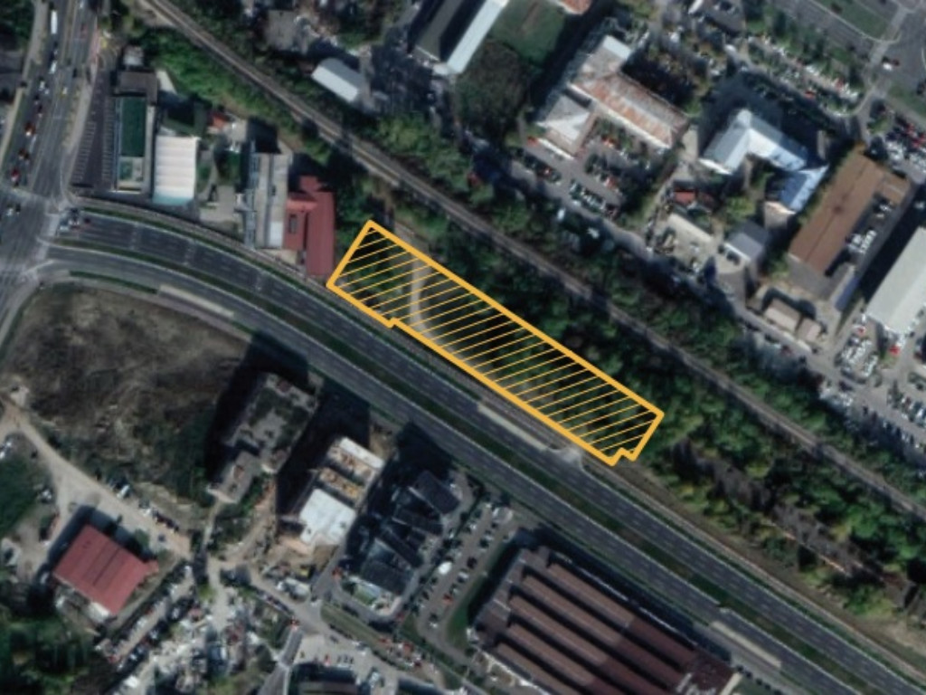 Grundstück im Block 40 in Novi Beograd wird für gewerbliche Funktionen vorbereitet