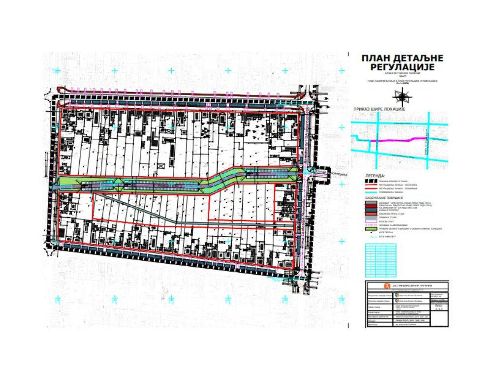 U Bačkoj Palanci u planu izmena Bloka 50 - Nova ulica, park, moguća izgradnja vrtića...