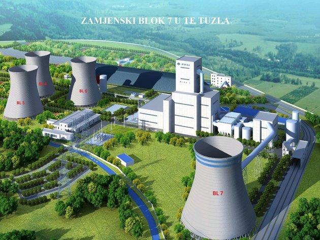 Stižu kineski inženjeri radi gradnje Bloka 7 u TE Tuzla