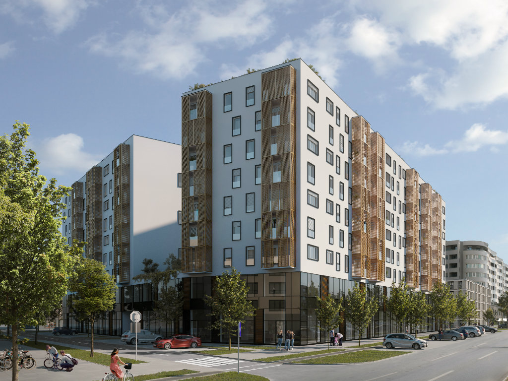 """Novi Sad će biti """"veći"""" za još 280 stanova - Gradi se Blok D na Bulevaru Evrope (FOTO)"""