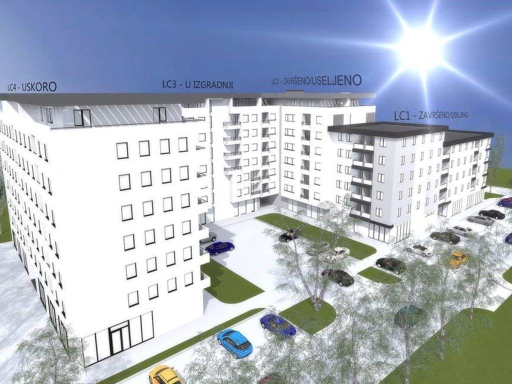 U toku gradnja treće lamele stambenog kompleksa Blok Istok u naselju Borik - Završetak cijelog bloka u 2019.