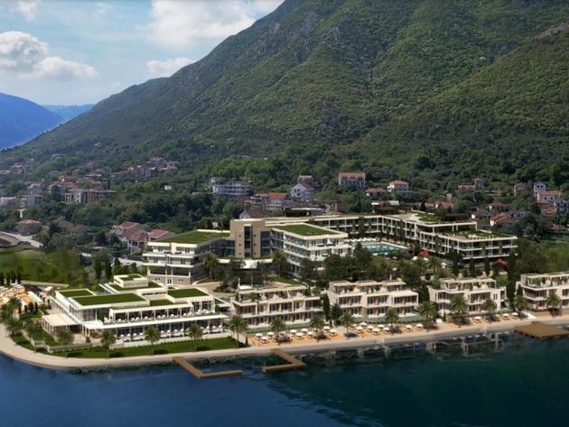 Turistički kompleks Blue Kotor Bay dobiće nove sadržaje - U planu dogradnja glavnog hotelskog objekta, gradiće se i vile uz more, bazeni i kongresna sala (FOTO)