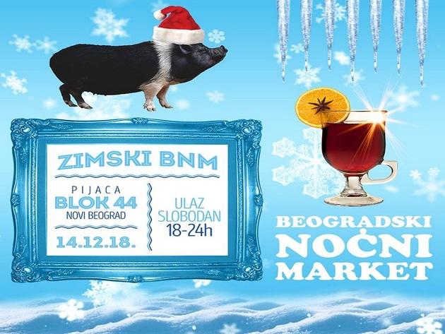Beogradski noćni market 14. decembra na pijaci Blok 44