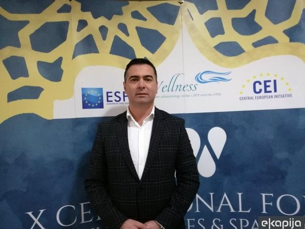 Boban Đurović, predsednik opštine Vrnjačka Banja