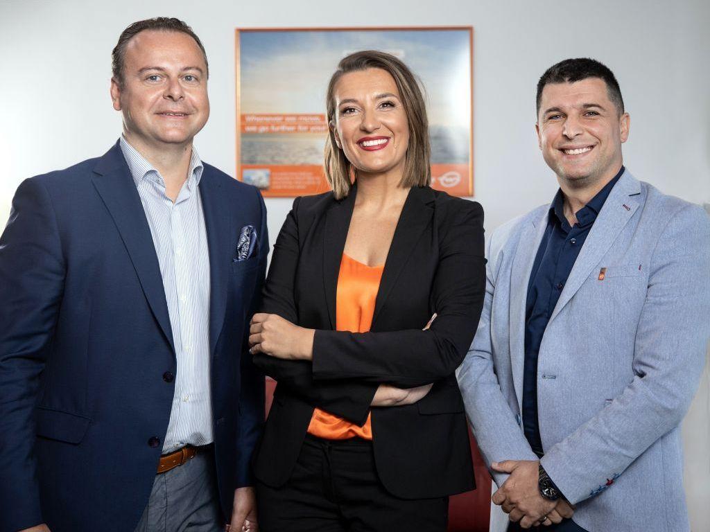 Bogdan Šoškić, Jelena Živanović i Goran Bačić, kompanija Gebruder Weiss - Radne dane ispunjavaju nam nove ideje i sjajna pokretačka energija