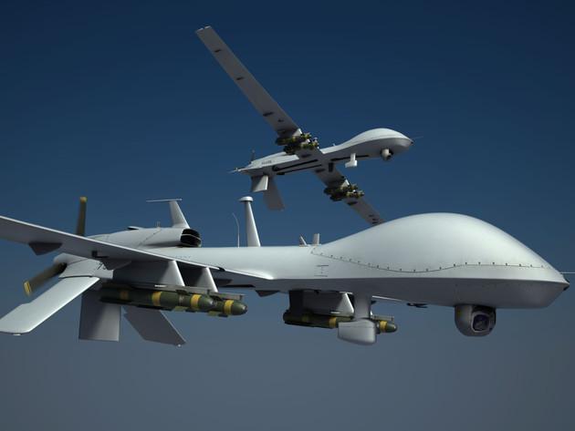 Borbeni dron sa turboprop motorom