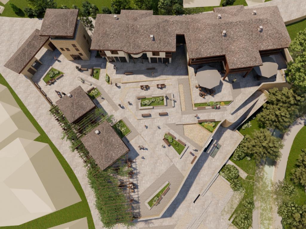 U Vranju niče Borin grad - Na 4.260 m2 gradiće se restoran sa prenoćištem, vinarija, lokali za male zanate, bina, fontane, vidikovac... (FOTO)
