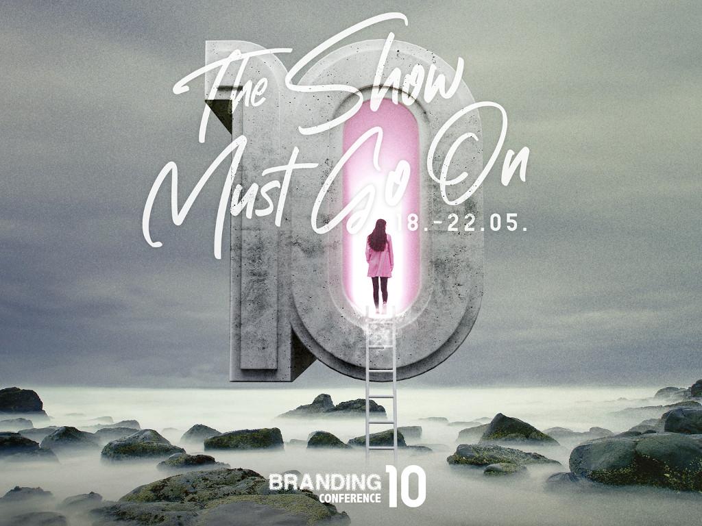 Jubilarna deseta Branding konferencija onlajn od 18. do 22. maja