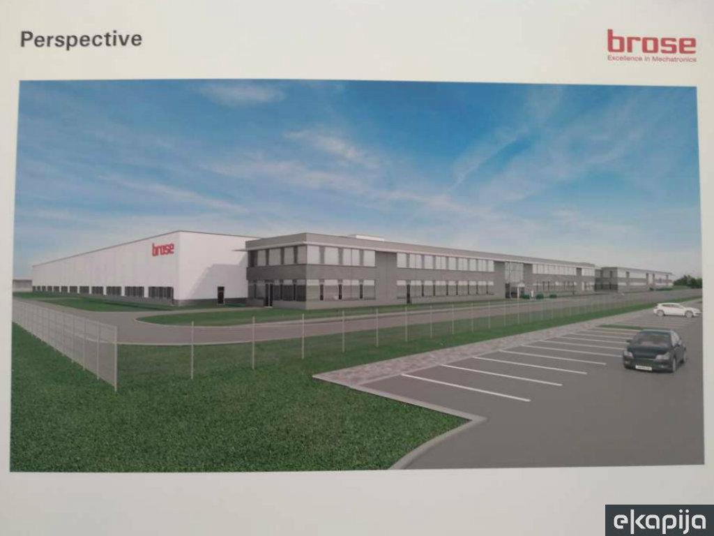 Završetak prve faze gradnje fabrike Brose u Pančevu na proleće - Proizvodnja startuje krajem 2021. godine