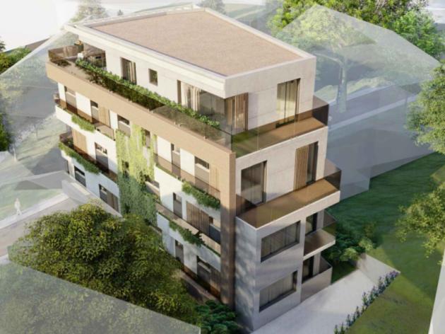 Na Voždovcu će se graditi nova zgrada sa podzemnom garažom, poslovnim prostorom i stanovima na gotovo 1.300 m2