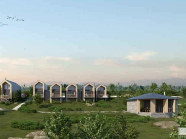 Kod Nove Varoši gradiće se turistički kompleks sa bungalovima u stilu planinskih kuća i prelepim pogledom na Sjeničko jezero