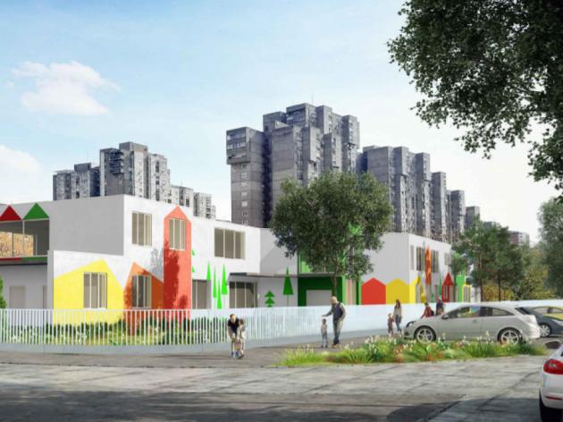 U središtu Bloka 62 na Novom Beogradu gradiće se novi vrtić za 270 dece