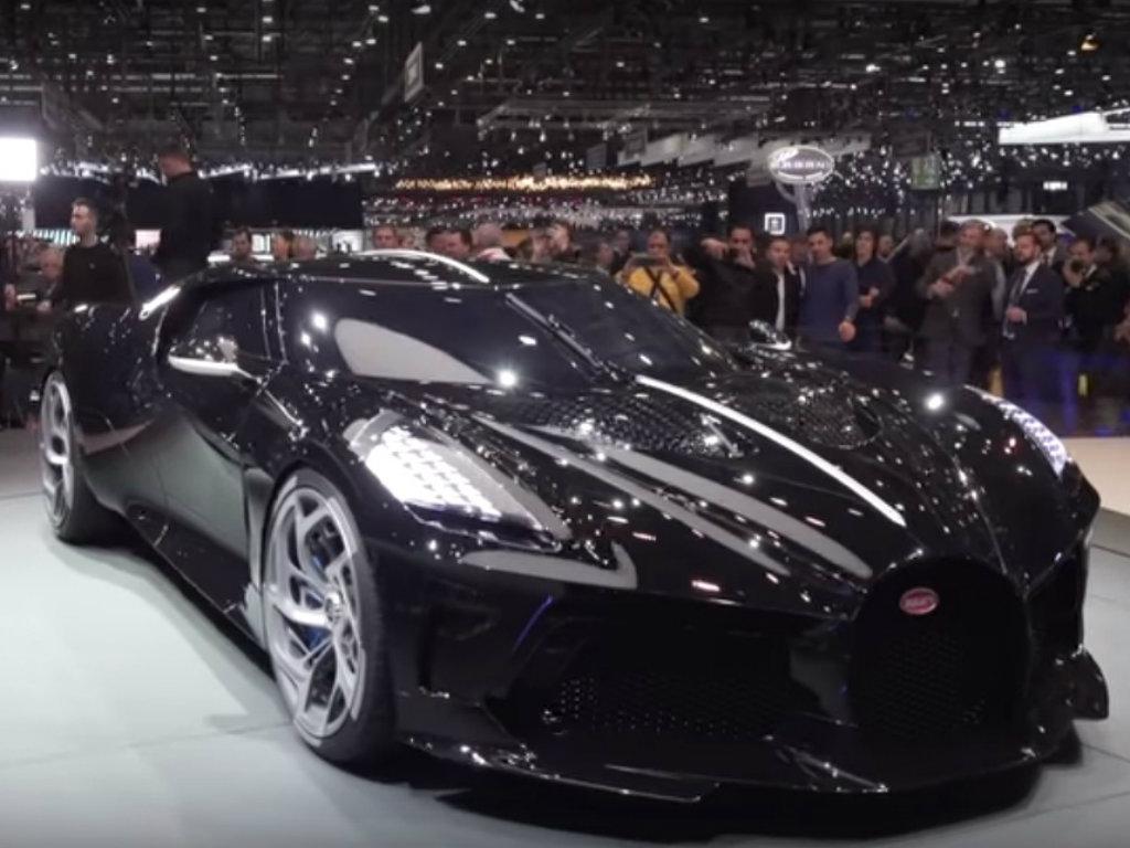 Na Sajmu u Ženevi izložen najskuplji automobil na svetu - Bugatti La Voiture Noire prodat za 9,7 mil EUR