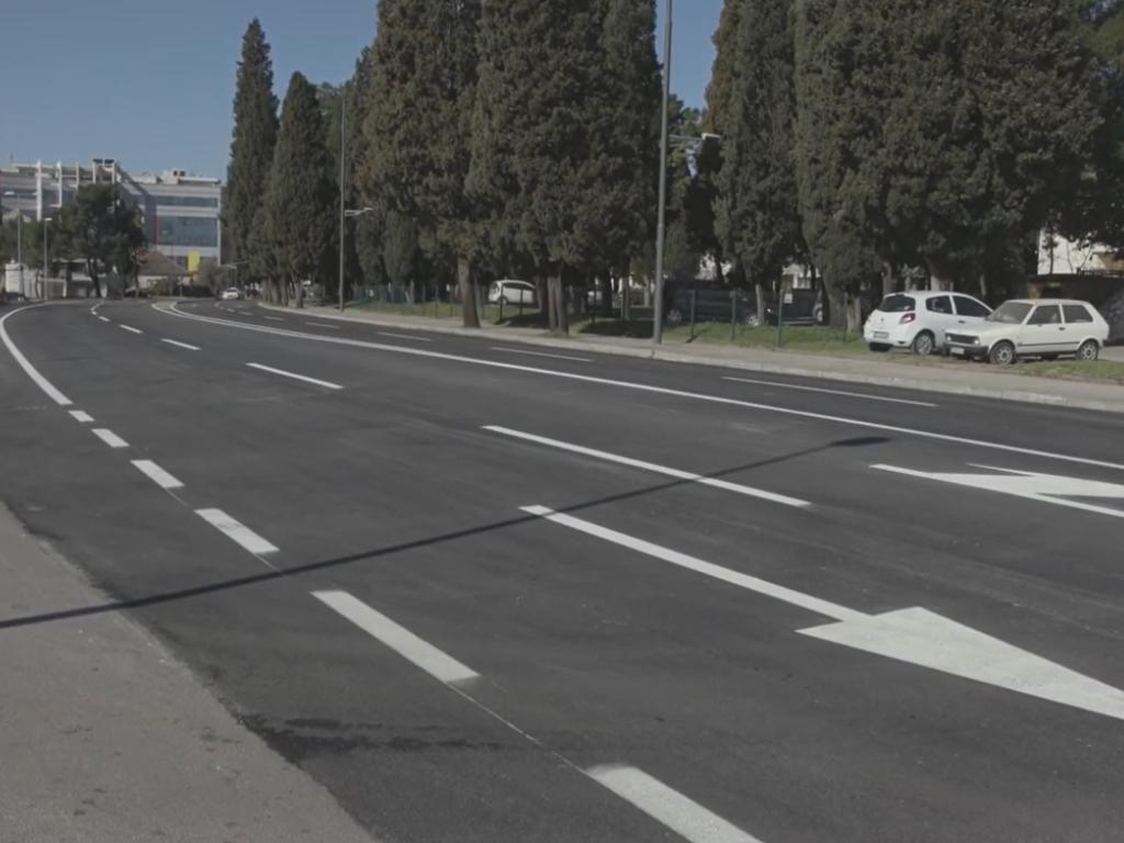Završena prva faza rekonstrukcije Bulevara Ivana Crnojevića - Za nastavak radova više od 250.000 EUR