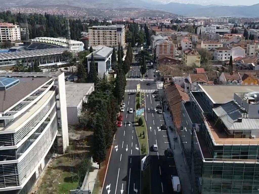 Podgorica dobila još jednu modernu saobraćajnicu - Završena rekonstrukcija Bulevara Ivana Crnojevića (VIDEO)