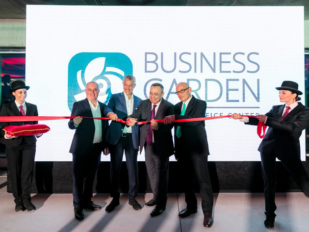Business Garden, most modern A-class office building in downtown Belgrade, opens