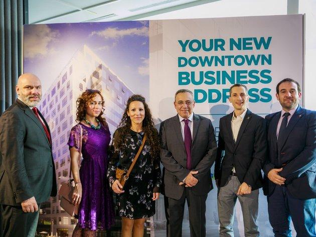 Nova poslovna adresa u centru grada - Projekat Business Garden predstavljen članovima AmCham-a