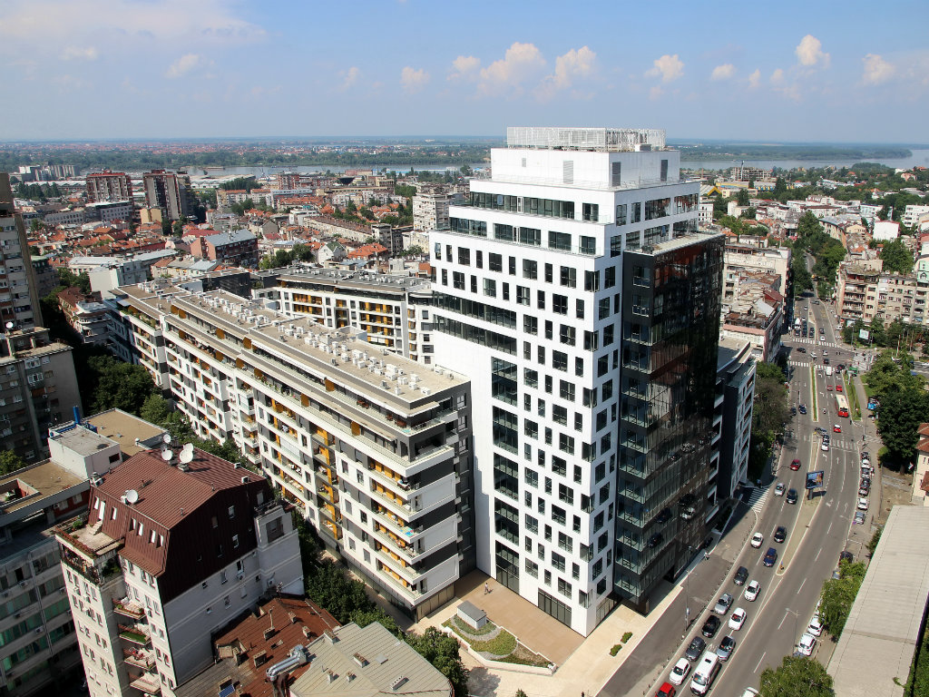 Business Garden - Poslovna porodica uspešnih u samom centru Beograda (FOTO)