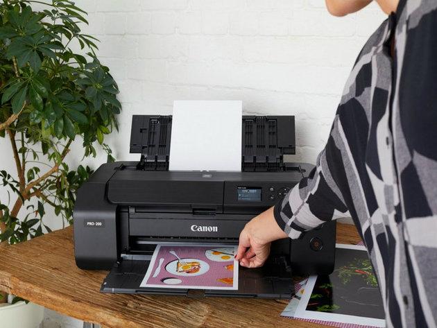 Predstavljamo PIXMA PRO-200 - Živopisan A3+ fotoštampač namenjen onima koji su puni kreativnog samopouzdanja