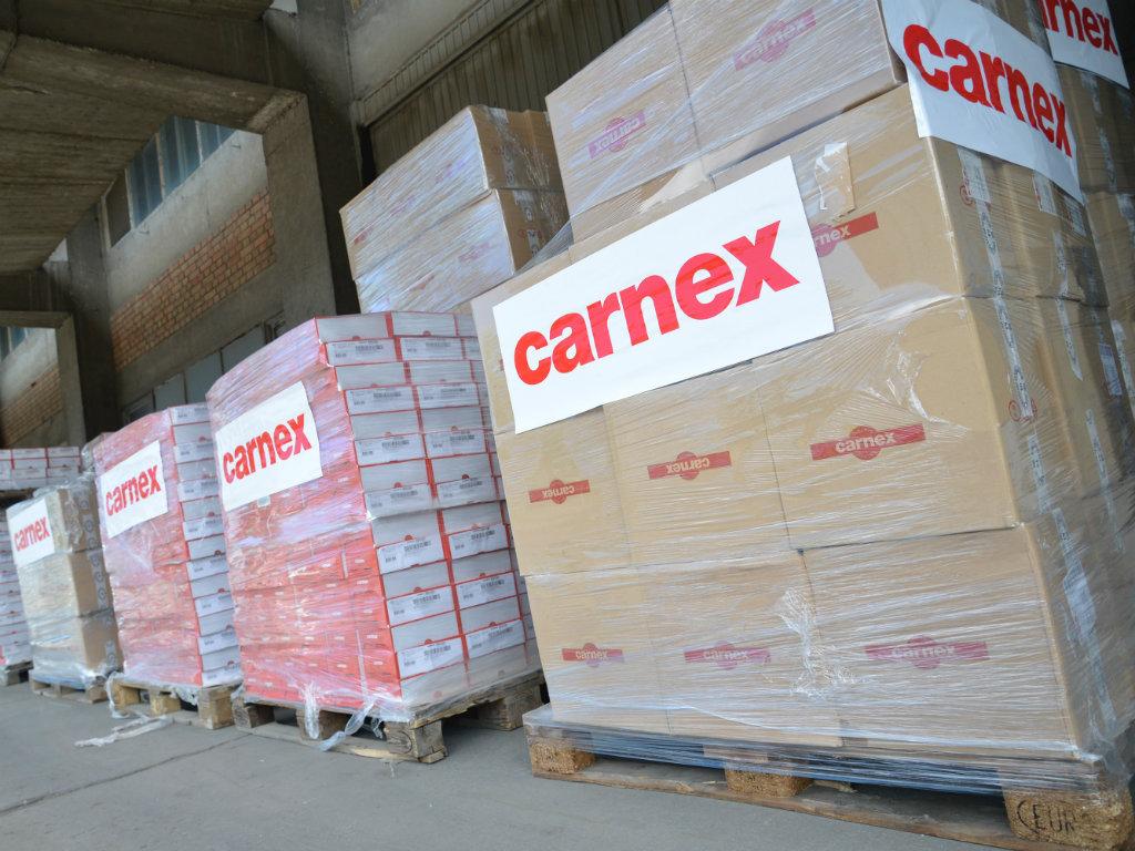 Carnex donirao više od 16 tona proizvoda Banci hrane