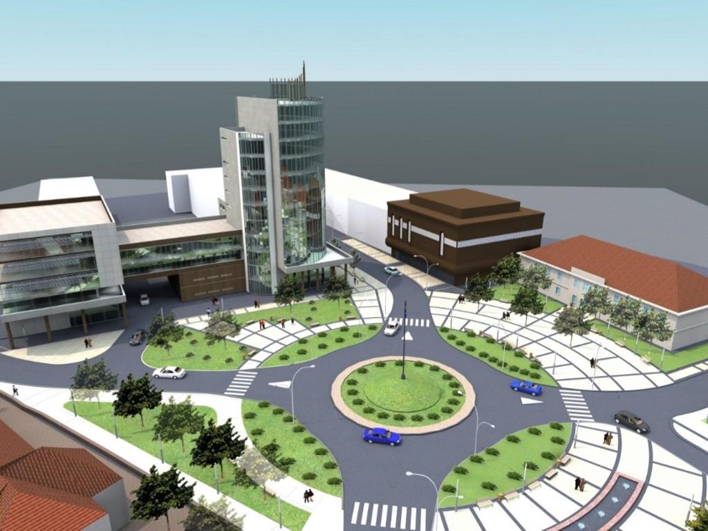 Sve institucije na jednom mjestu - Pogledajte kako će izgledati novi administrativno-finansijski centar u Cazinu (FOTO)