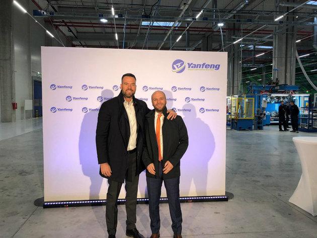 Boško Tomašević i Igor Momirović iz kompanije CBRE