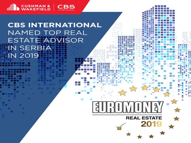 CBS International i Cushman & Wakefield proglašeni najboljima na tržištu nekretnina